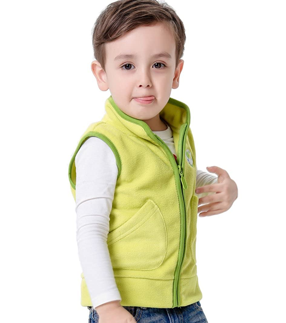 Dalary Baby Boys/&Girls Polar Fleece Sleeveless Jacket Outerwear Vests