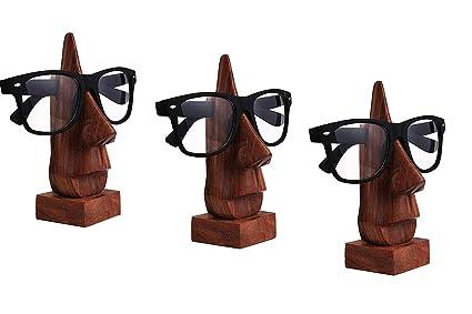 madera Porta Gafas, Gafas Holder, retención Holder gafas, gafas de sol soporte, vasos Holder, Acción de Gracias y de la Navida