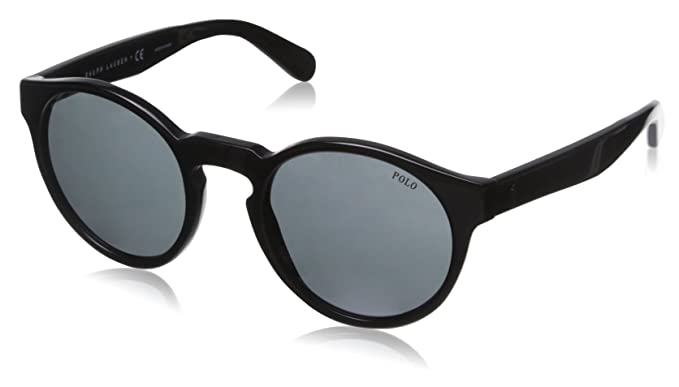 Polo Ralph Lauren Sunglasses 0PH4101 Black, 52: Amazon.co.uk: Clothing