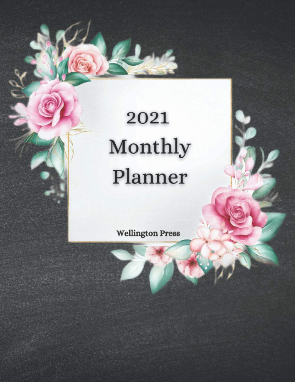 Image result for 2021 Monthly Planner: US Holidays, Full Write-In Monthly Calendars, Monthly Goals, End-Of-Mon Reflections, & More!