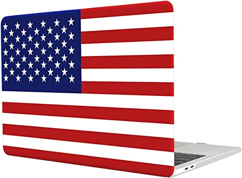 LAPTOP PROTECTIVE SHELL CASE COVER FOR APPLE MAC BOOK PRO RETINA USA FLAG