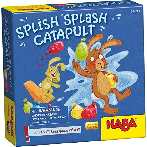 (HABA Splish Splash Catapult - A Lively Flicking Game of Skill (Made in)