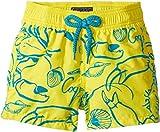 Vilebrequin Kids  Baby Boy's Flocked Shellfish Swim Trunk (Toddler/Little Kids/Big Kids) Yellow Swimsuit Bottoms