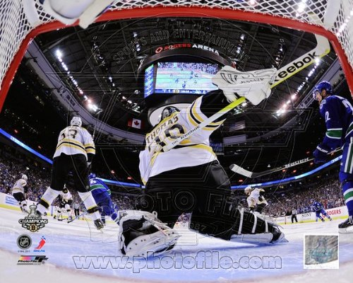 Tim Thomas Boston Bruins (Tim Thomas Boston Bruins Stanley Cup Photo 8x10 #7)