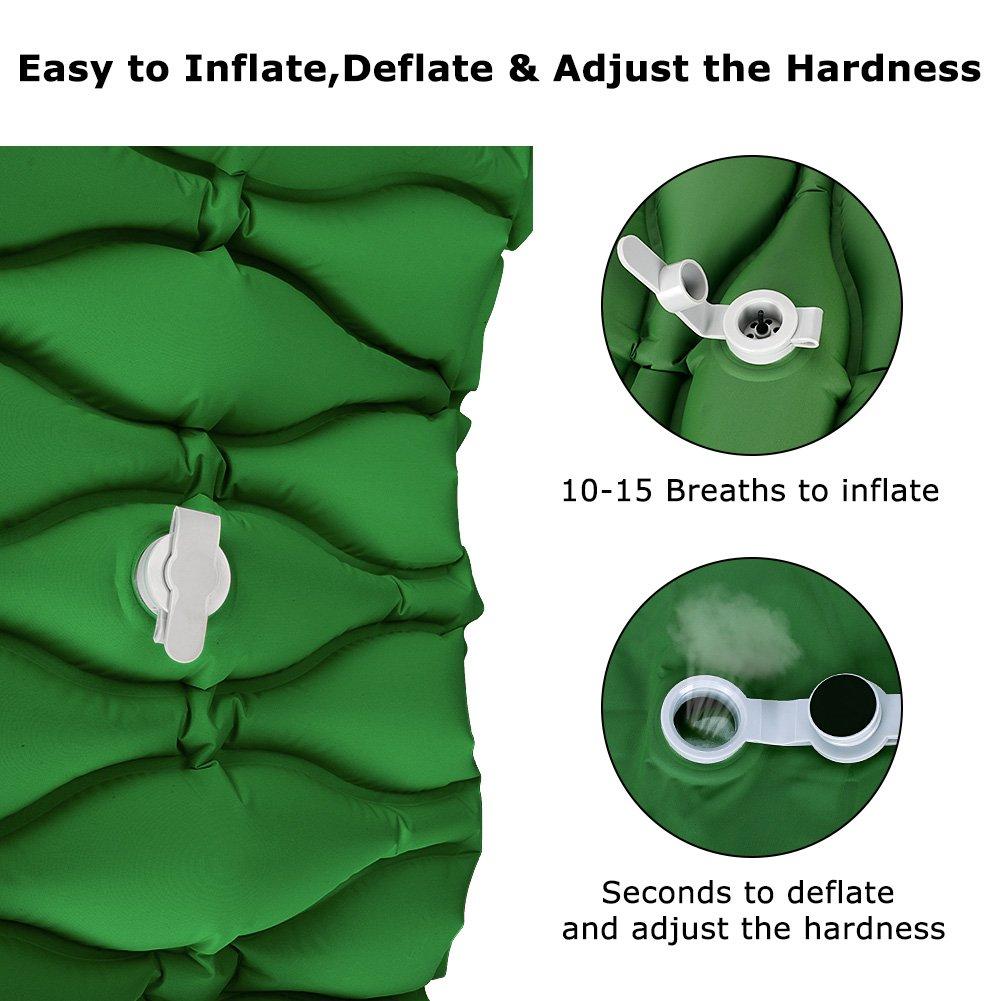 Klymit Static v2-Natte légèrement Vert