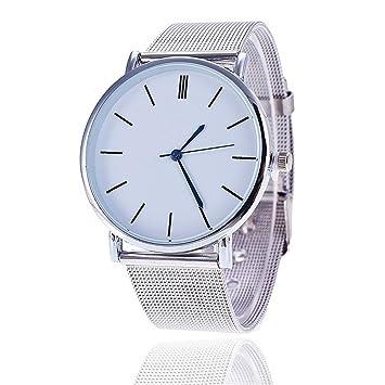Reloj de pulsera de Pareja - Moda Relojes niña Reloj de pulsera clásico para mujer hombres