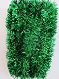 "Green Foil Tinsel Christmas Garland 354"" (29.5 Feet) By Blue Green Novelty"