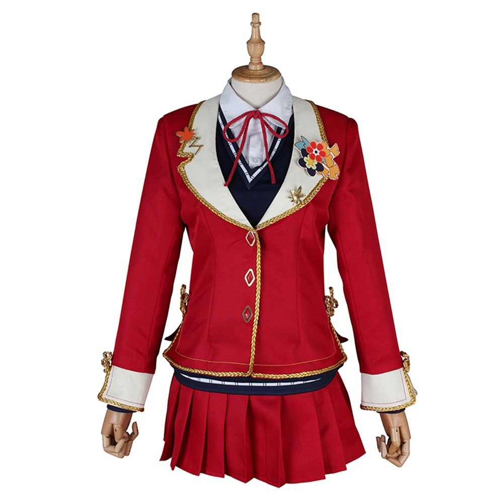 Love Live! Sunshine! Aqours Dia Kurosawa Red Leaves Cosplay Costume