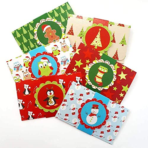 Amazon Com Kids Christmas Holiday Gift Card Or Money Holders
