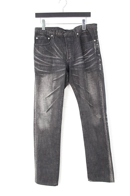 (ディオールオム) Dior HOMME ウォッシュ加工デニムパンツ(48/ブラック×グレー) 中古 B07FKBQPPM  -