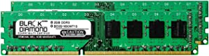 4GB 2X2GB RAM Memory for Acer Aspire Desktop M3470-UC10P DDR3 DIMM 240pin PC3-12800 1600MHz Black Diamond Memory Module Upgrade