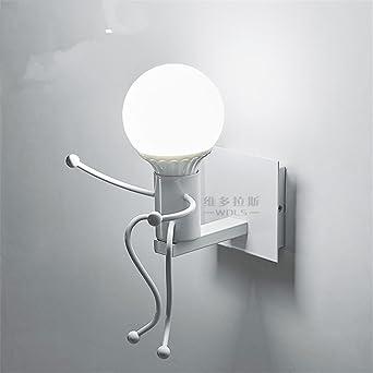 Murale Lampes Moderne Applique Iron Avec Des Ggrxa Décorée Wrought OPZikXu
