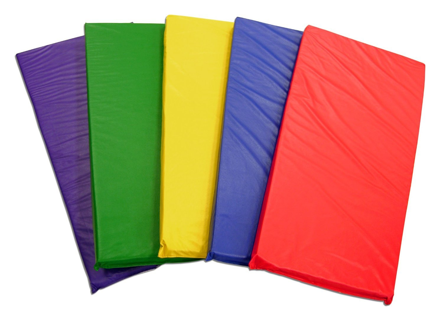 (5-Pack) KinderMats Rainbow Designer Nap Mats by KinderMat