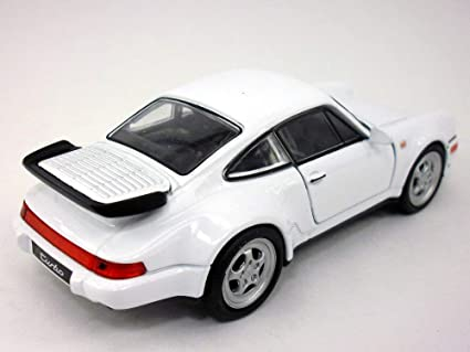 Welly 4.5 inch Porsche 911 / 964 Turbo Scale Diecast Model White