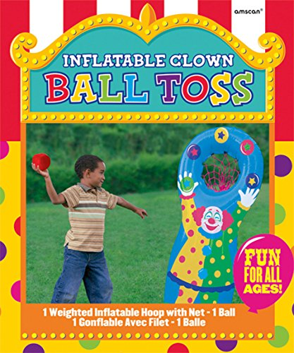 Amscan 279204 Inflatable Ball Toss Game, One Size, Multicolor
