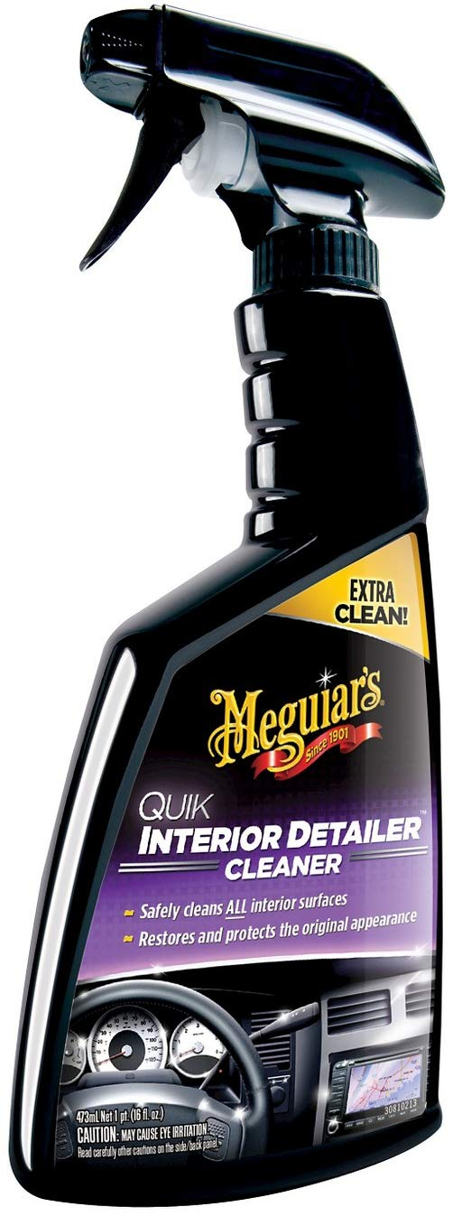 Meguiar's G13616 Quik Interior Detailer Cleaner - 16 oz. 4 Pack