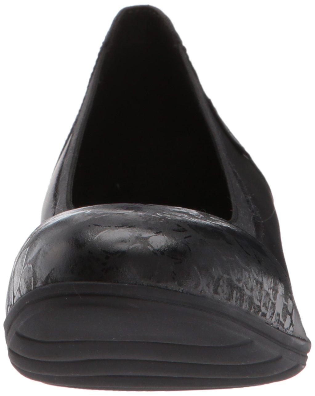 Mephisto Women's Elettra Ballet Flat Queen/Silk B06XKMBJSV 8.5 B(M) US Black Queen/Silk Flat da2321
