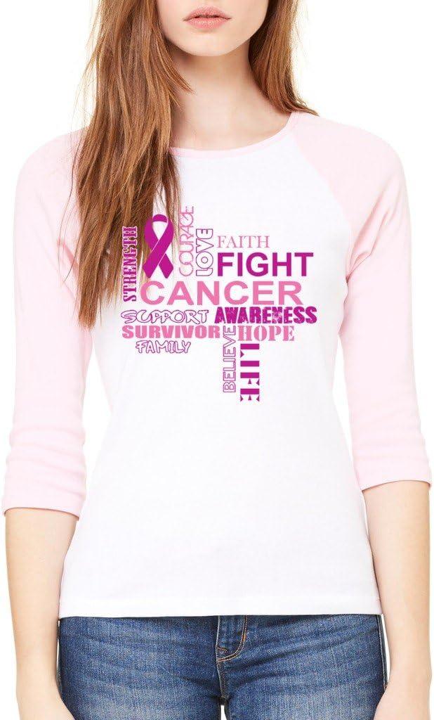 VISHTEA October is Pink Ribbon T-Shirt Breast Cancer Awareness Shirts