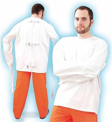 Krause & Sohn Camisa de fuerza blanco Gr. XXL: Amazon.es: Ropa y accesorios