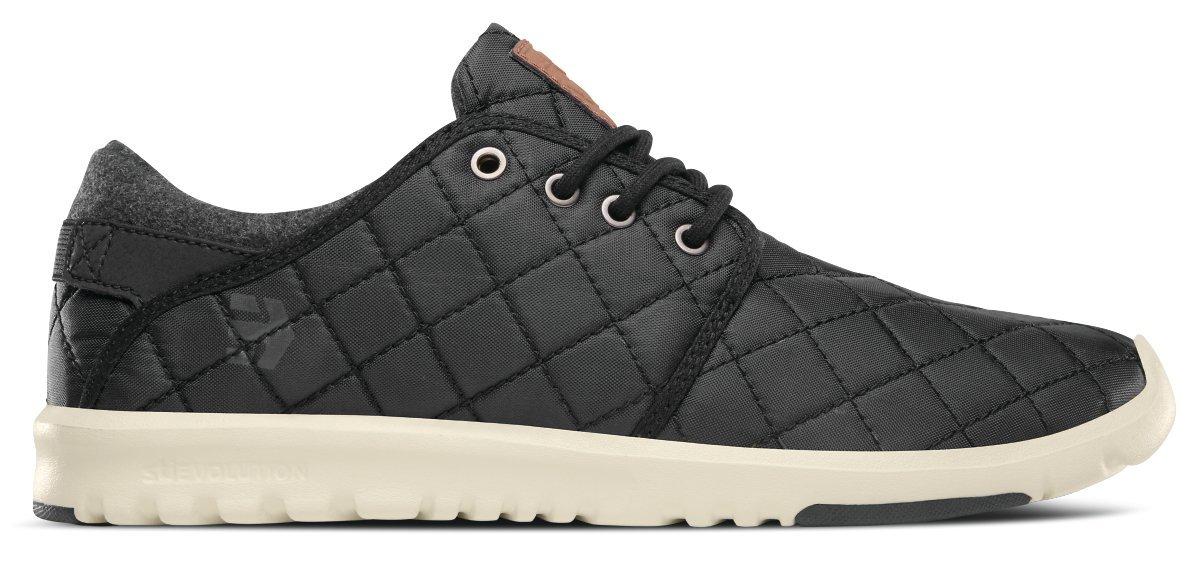 Etnies Men's Scout Sneaker 8 M US Black/Black/Silver