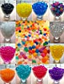 12 Pack Combo Colorful Magical Beads- Vase Filler, Water beads gel-12 colors - 5 gms /pack