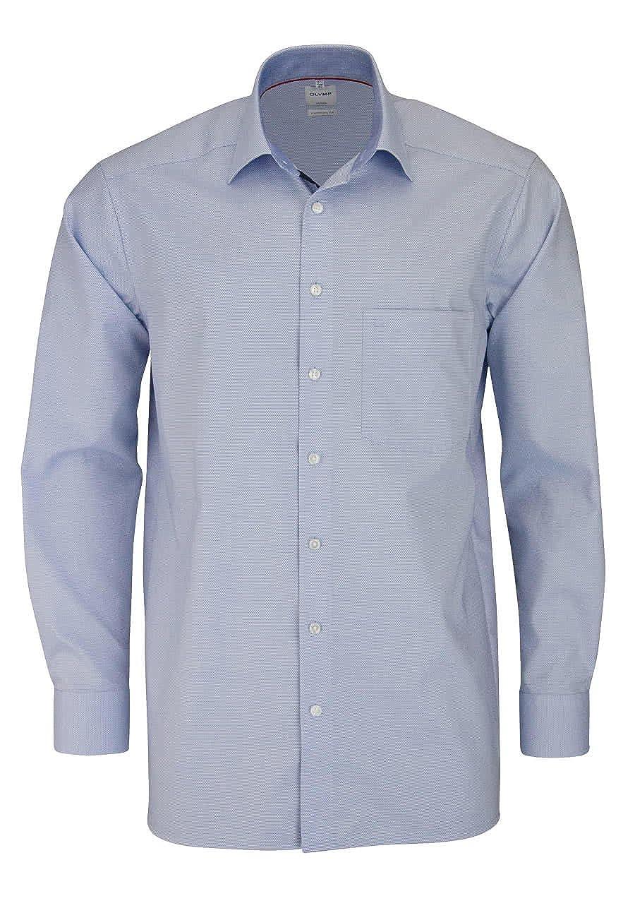 TALLA 43. Olymp Camisa Formal - Básico - Cuello Kent - Para Hombre