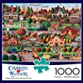 Labor Day in Bungalowville by Charles Wysocki - 1000 Piece Jigsaw Puzzle by Buffalo Games from Buffalo Games