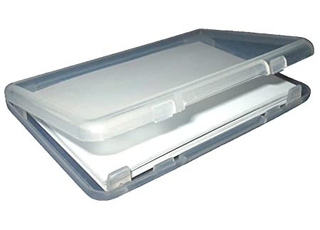 official photos 9054e 91ca3 3 x Slim Plastic Business Card Cases - Holds 20 - (Clear Credit Card ...