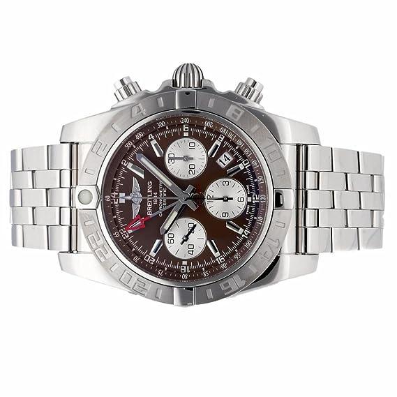 Breitling Chronomat automatic-self-wind Mens Reloj ab0420 (Certificado) de segunda mano: Breitling: Amazon.es: Relojes