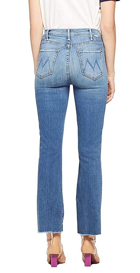 9266f382b1e MOTHER Women's The Patch Pocket Hustler Ankle Frayed Jeans, Love for Sail,  30 at Amazon Women's Jeans store