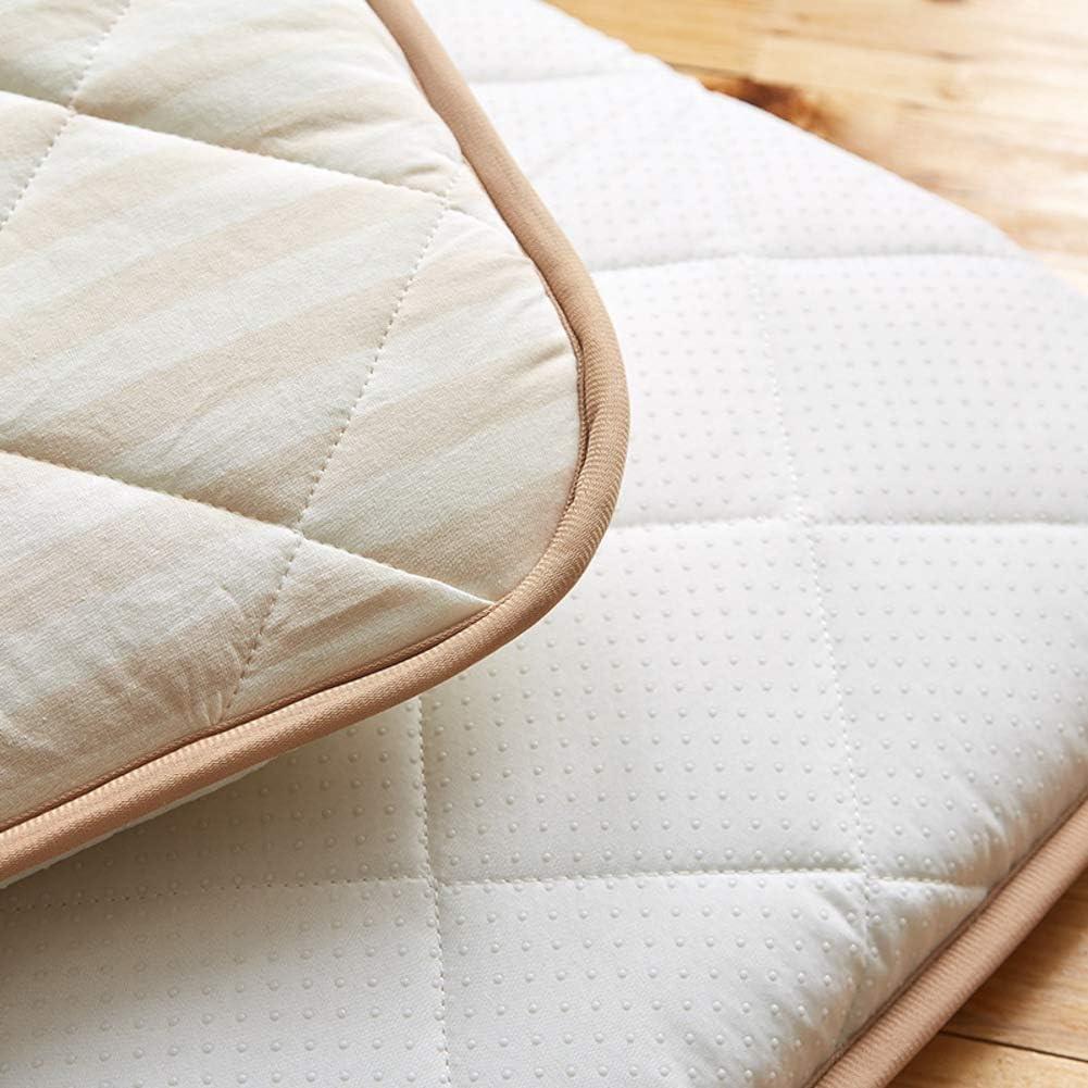 39x22inch 100/% Cotton Crib Mattress,Toddler Nap Mat,Waterproof Baby Crawling Cushion Hypoallergenic Sleeping Pad Washable Tatami Mat-a 100x56cm