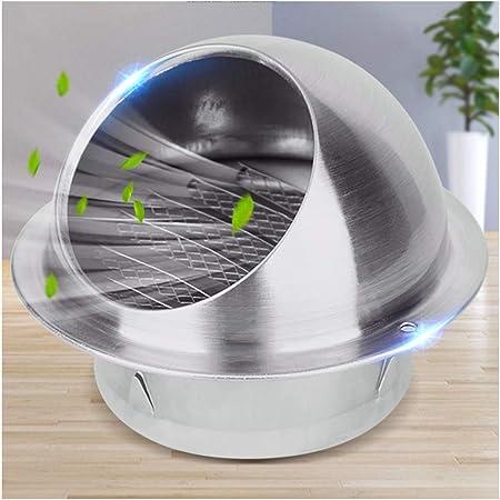 LTLSF 201 Acero Inoxidable Ronda Rejilla de Ventilación de Acero Inoxidable con Rejillas de Ventilación para Cocina Interior y Exterior Rejilla de Ventilación Rejilla de Ventilación,250MM: Amazon.es: Hogar