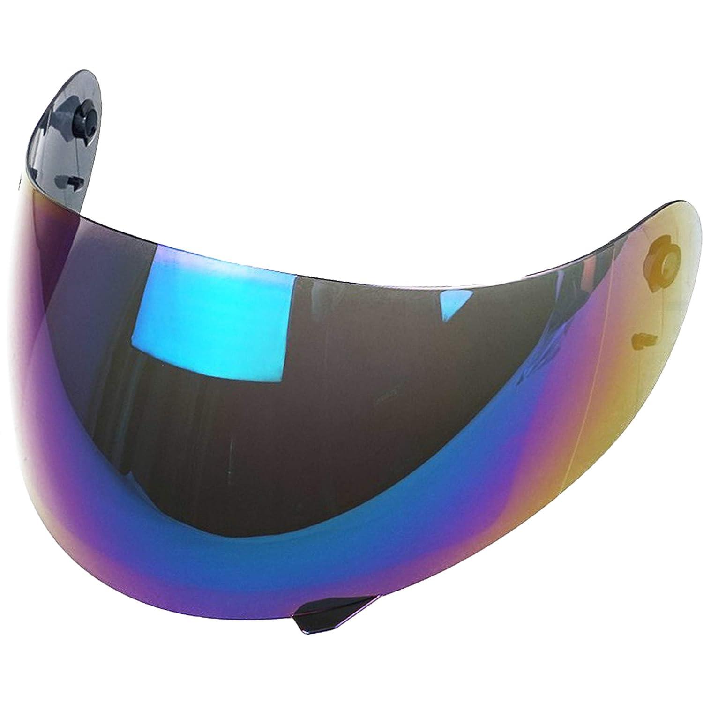 Gold Iridium AGV K3 K4 K4 Evo Visor Transparent Smoke Blue Gold Mirror Rainbow Compatible Aftermarket
