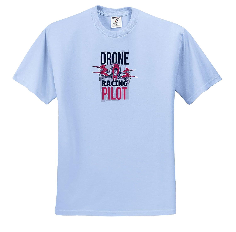 3dRose Sven Herkenrath Sport Adult T-Shirt XL Drohne Racing Pilot Aircraft Funny Sport ts/_317141