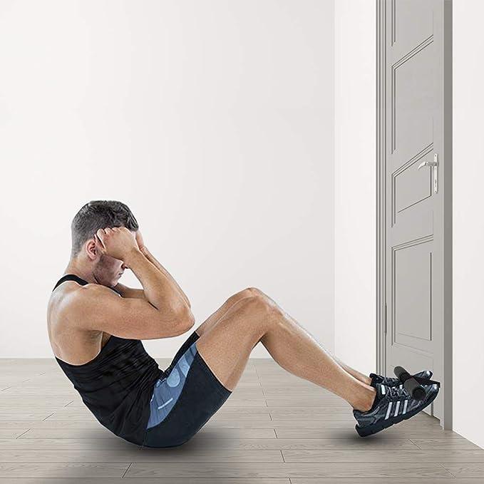 Sit-Up Aide adapt/é pour la Maison Chevill/ère Formateur Gym Dispositif auxiliaire pour abdominaux Machine dexercice /Équipement autoamor/çante Fitness Portable Sit-Up Tr/épied