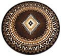 South West Native American Area Rug Design Kingdom D 143 Chocolate