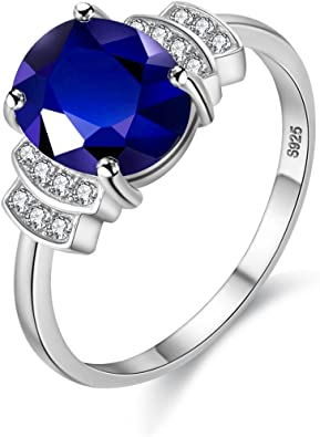 Wedding Gifts Christmas Ring Engagement Ring Tanzanite With Diamond 925 Sterling Silver Ring New Year Gift for Her. Handmade Ring