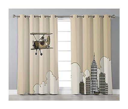 Amazon.com: Goods247 Blackout Curtains,Grommets Panels ...