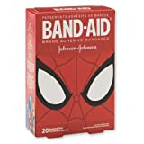 Band-Aid® Spider-Man Bandages - First Aid Supplies - 20 per Pack