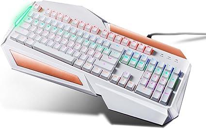 L&Y Teclados para Gamers Juego Teclado Mecánico Laptop RGB ...