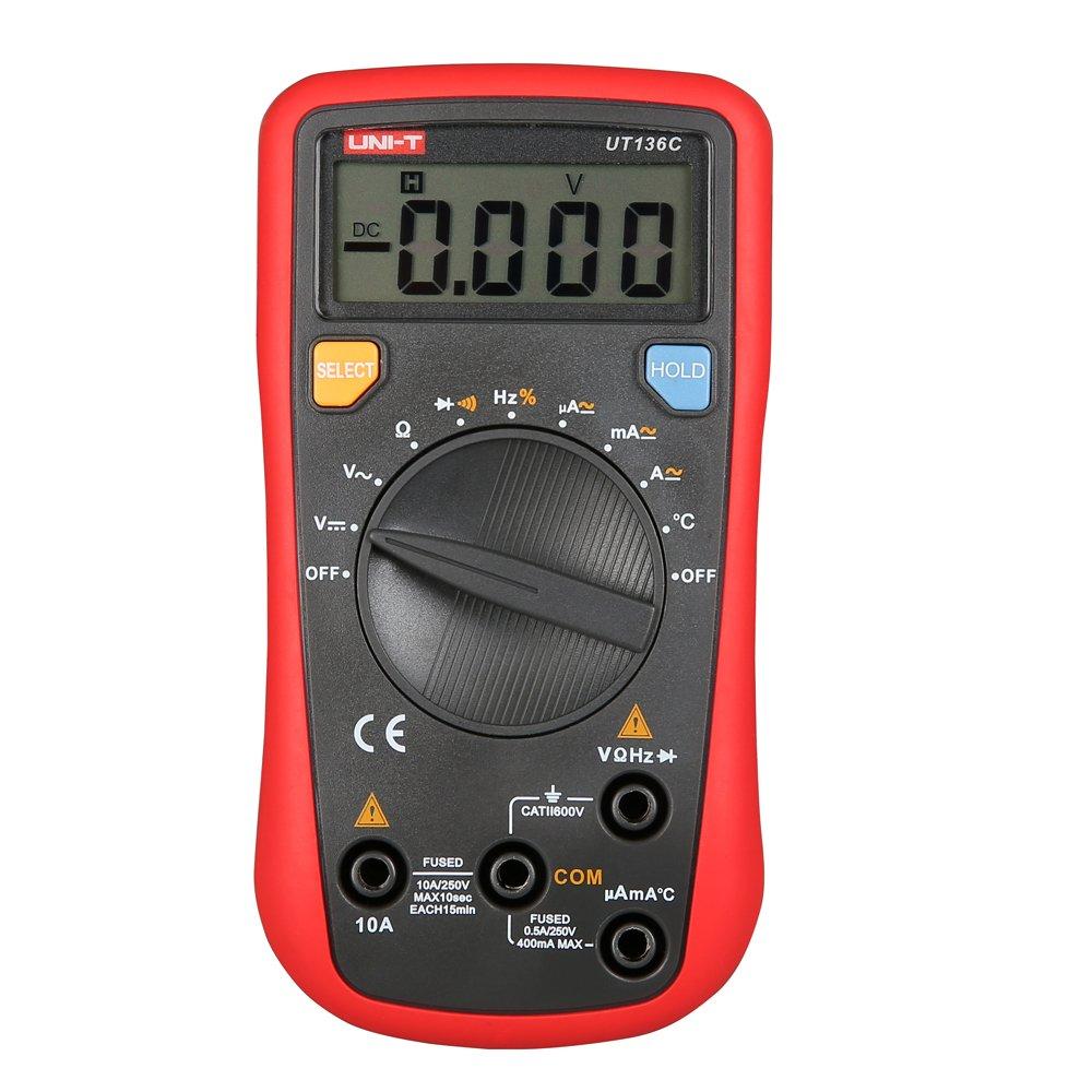 uni-t UT136 C Handheld auto-ranging multimetro digitale RMS Digital Meter