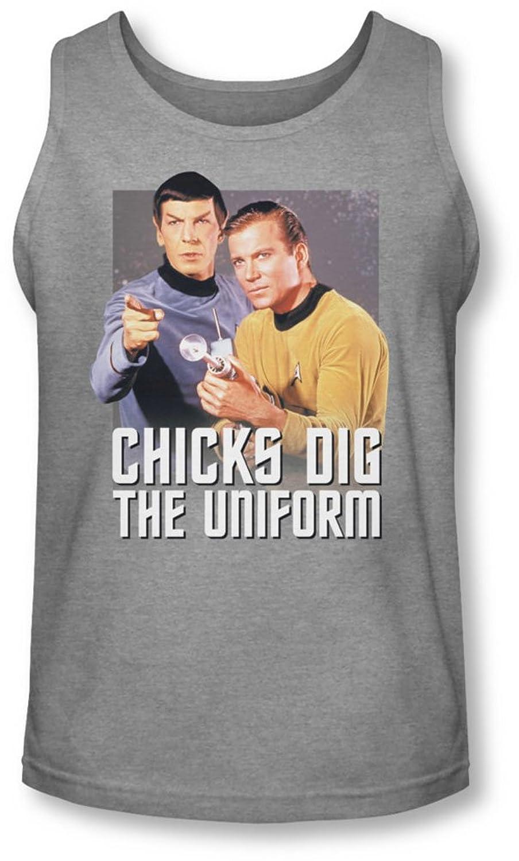 Star Trek - Mens Chicks Dig Tank-Top