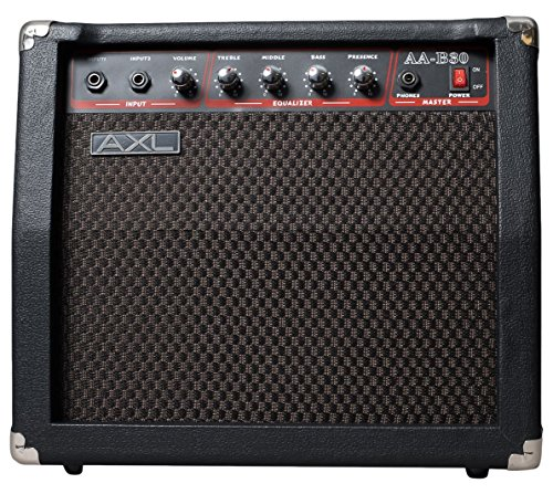 30 Watt Combo Amplifier (AXL AA-B30 Bass Amplifier, 30W)