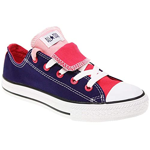 77a3652f1759cc Image Unavailable. Image not available for. Color  Converse 6325666f  Juniors Double Tongue Fashion Sneaker 6M Junior 5.5 UK