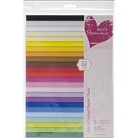 Papermania - Confezione da 48 fogli colorati, formato A4