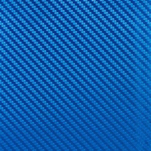 VViViD XPO Dry Carbon Electric Blue Premium Film Vinyl Wrap 5 ft. x 1 ft. by VViViD Vinyl