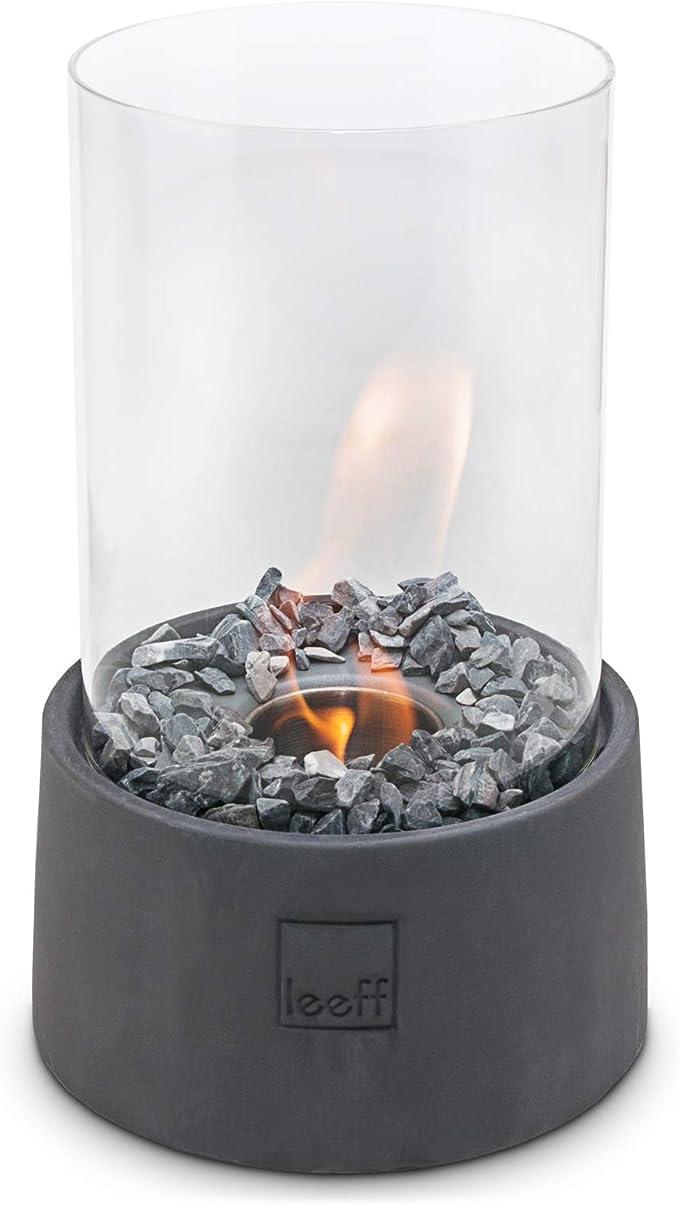 Leeff Stonefire - Chimenea de Mesa de bioetanol (29 cm): Amazon.es ...