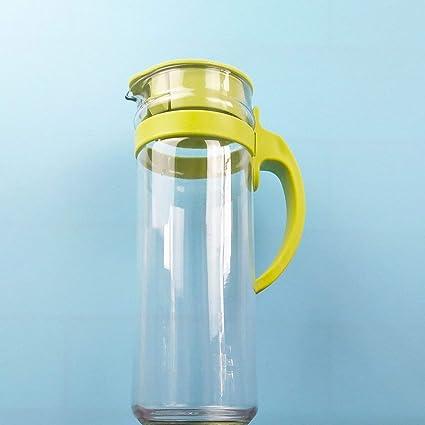 JullyeleESgant Botella de Agua fría de Alta Temperatura Hogar Universal Olla fría Gran Capacidad de Bebida