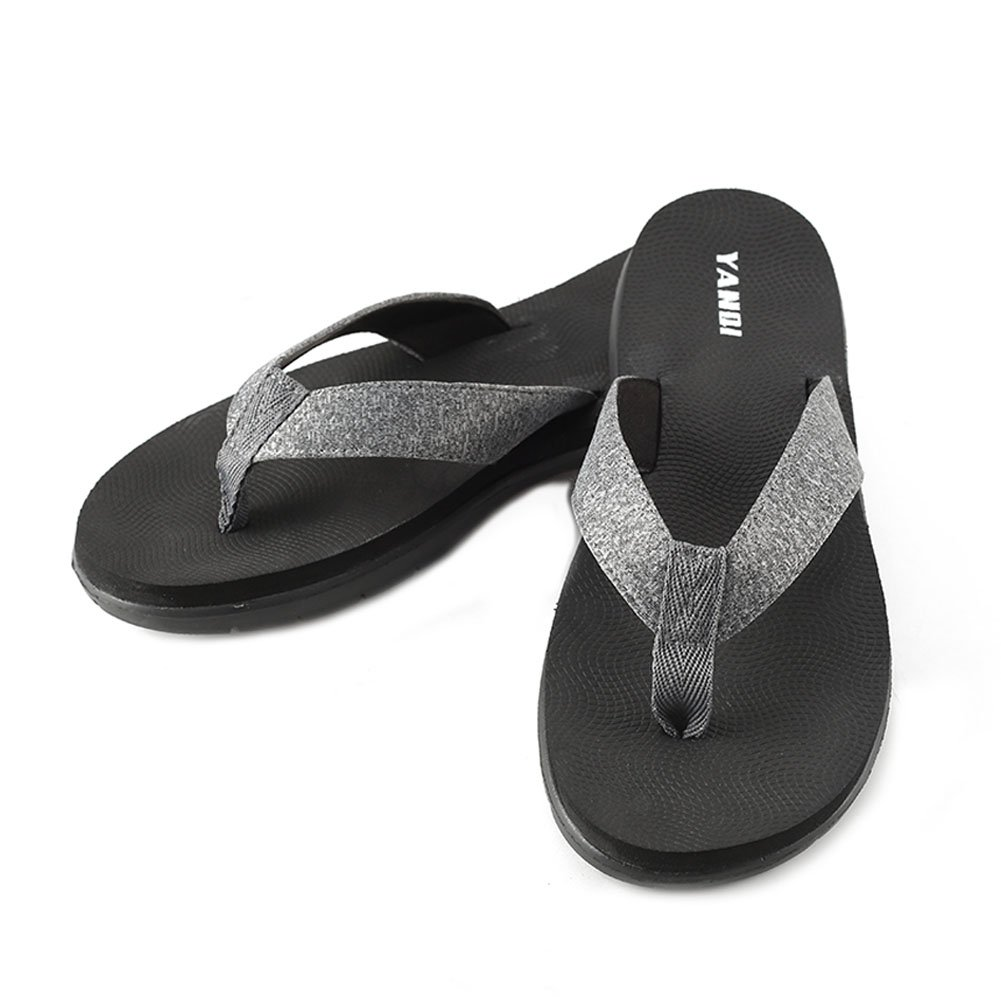 LOVE YANQI Men&Womens Flip Flops Fashion Casual Beach Slippers Sandals Anti-Slip Breathable Fit for Summer by LOVE YANQI (Image #1)