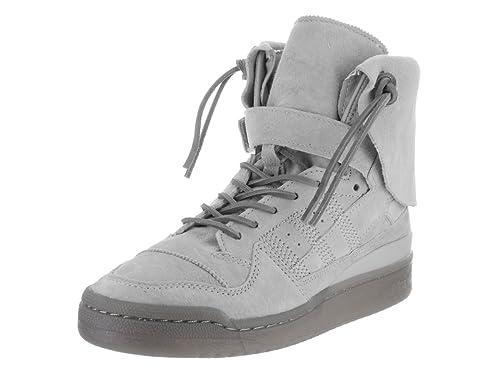 Adidas Forum Hi Moc Hombre US 10.5 Gris Zapatillas: Amazon.es: Zapatos y complementos